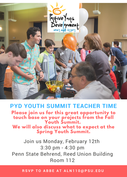 PYD Youth Summit Teacher Time